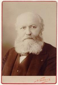 Charles Gounod, by Nadar (1890)