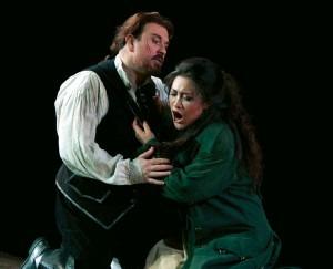 With Franco Vassallo in Il Trovatore at the Met Credit: http://www.operanews.com/