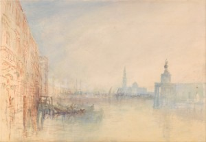 Turner: Venice: The Mouth of the Grand Canal