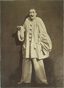 Pierrot Laughing (1855) by Nadar