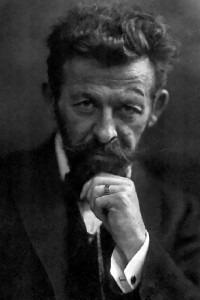 Richard Dehmel (1905) by Rudolph Dührkoop