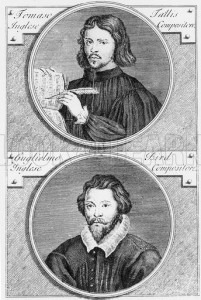 Thomas Tallis and William Byrd engraved by Niccolo Francesco Haym