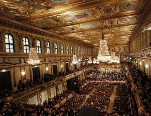 Vienna's Musikverein can't be beat. AP Photo/Ronald Zak