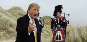Long before Trump rolled in the deep, music and politics were entwined August 24, 2016 3.01pm AEST Donald Trump in Scotland – musicians have asked that he refrain from using their songs at his political events. David Moir/Reuters