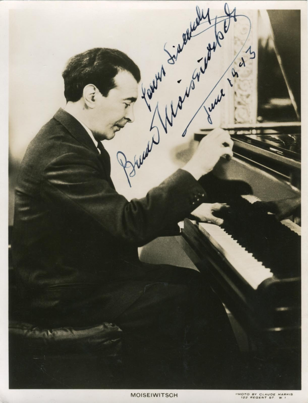 Forgotten Pianists: Benno Moiseiwitsch