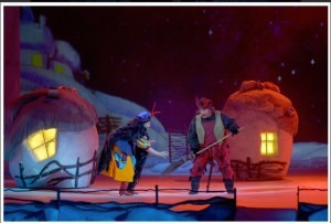 Vasily Gorshkov as the Devil in Rimsky-Korsakov's Christmas Eve, Mariinsky Theatre, 2008