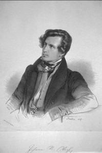 Johann Nepomuk Vogl, lithograph by Johann Stadler 1837
