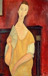 Modigliani: La Femme à l'éventail (1915)