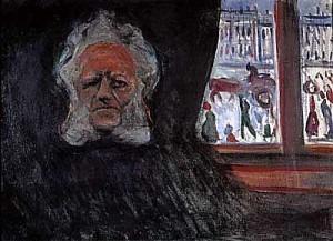 Munch's Poster for Ibsen's John Gabriel Borkman (1896)