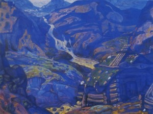 Nicholas Roerich -- Stage Design for Peer Gynt, 1912