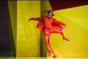 The Devil in Der Freischütz, Zurich Opera 2016. Photo by Hans Jörg Michel.