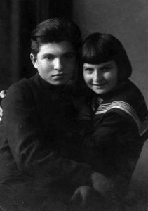 Emil Gilels and his sister Elizabeth