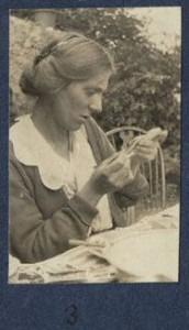 Fredegond Shove, by Lady Ottoline Morrell