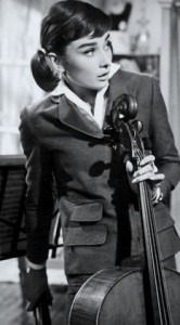 Hepburn and cello