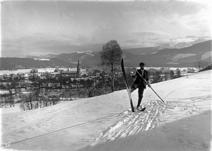 Karlowicz on the ski