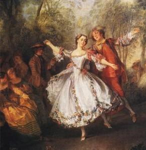 La Camargo Dancing, by Nicolas Lancret, c.1730