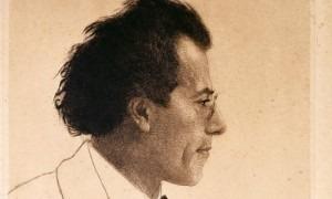 Artist Emil Orlik's famous 1902 etching of Gustav Mahler (flickr.com)