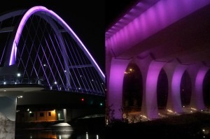 Mississippi River bridge and Lowry Ave bridge Mpls