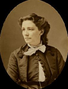 Victoria Claflin Woodhull by Mathew Brady c. 1870