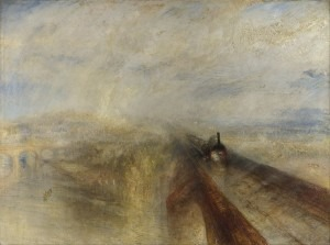 J.M.W. Turner: Rain, Steam and Speed – The Great Western Railway (1844).