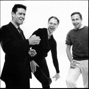 John Cage, Merce Cunningham and Robert Rauschenberg