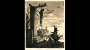 Le pendu by Albert Besnard