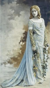 Mary Garden as Mélisande