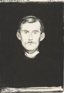Munch's Self-Portrait