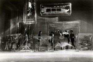 Walk around Time, sets by Jasper Johns