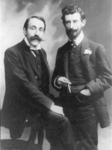 Ravel and Viñes 1907