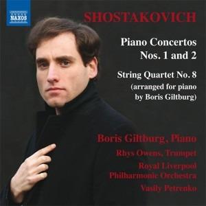 shostakovich piano concertos 1 and 2 cd