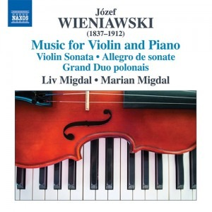 wieniawski music for violin and piano cd