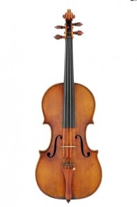 "The 1709 Stradivarius violin nicknamed ""Marie-Hall Viotti."" Credit: Chimei Museum"