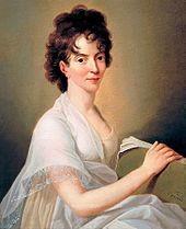 Constanze Mozart by Hanson,  1802