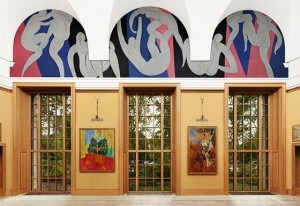 Matisse Mural at the Barnes Foundation