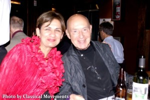 Neeta Helms with Christoph Eschenbach