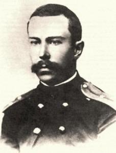 Rimsky-Korsakov in 1866 as a naval cadet