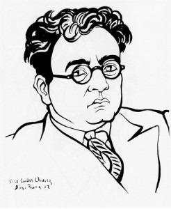 Carlos Chávez, by Diego Rivera, 1932