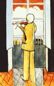 Violinist at the Window, 1918