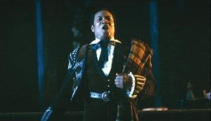 Simon Estes as Escamillo in Bizet's Carmen, San Francisco, January 1, 1981 (Ron Scherl/Redferns)
