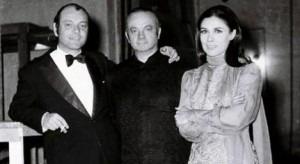 Astor Piazzolla and Amelita Baltar