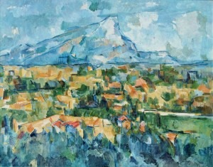 Cézanne, Mont Sainte-Victoire, 1902-1904