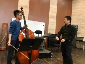 Masterclass at Beijing Central Conservatory of Music