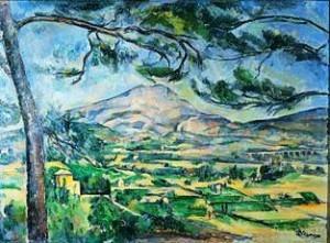Paul Cézanne Mont Sainte-Victoire, 1885-1887