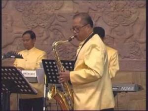 Sihanouk Royal Saxophone