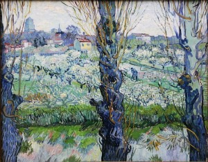 Van Gogh, View of Arles with Flowering Orchard, 1889