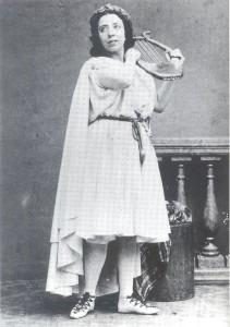 Pauline Viardot as Gluck's Orphée