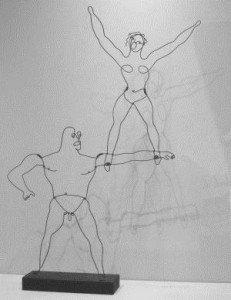 'HI' (Two Circus Acrobats), 1928