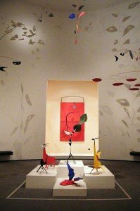 Alexander Calder at the National Gallery in Washington, D.C.