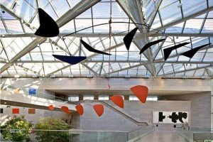 Calder Mobile - East Building of the National Gallery of Art, Washington, D.C.
